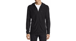 John Varvatos Star USA  - Stretch-Knit Zip Hoodie