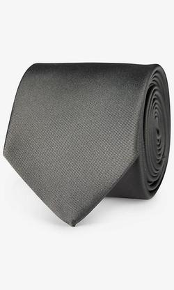 Express - Solid Silk Tie