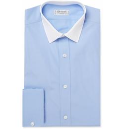 Charvet - Contrast Collar Cotton Shirt