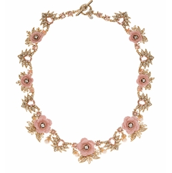 Marchesa - Floral Glitz Collar Necklace