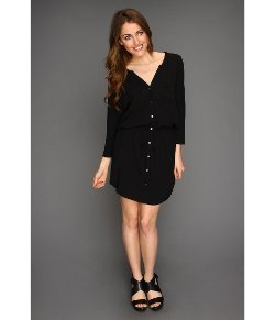 Soft Joie - Dayle L/S Button Up Shirtdress