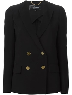 Salvatore Ferragamo - Double Breasted Blazer