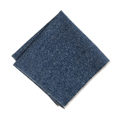 The Hill-Side - Japanese Selvedge Chambray Pocket Square