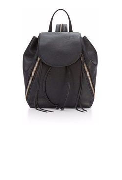 Rebecca Minkoff - Bryn Zip-Trim Leather Backpack