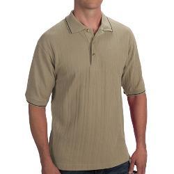 Woven Blend -  Polo Shirt