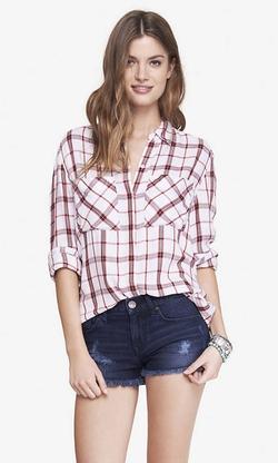 Express - Plaid Shirt