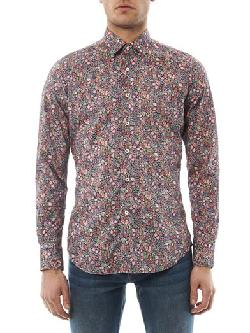 GLANSHIRT - Kurt floral-print cotton shirt