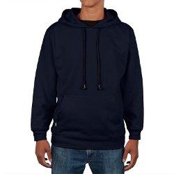 HoodieBuddie - Navy Pullover Hoodie Jacket