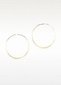 Michael Kors  - Whisper Medium Hoop Earrings