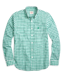 Brooks Brothers - Long Sleeve Check Sport Shirt