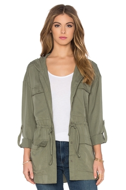 Toby Heart Ginger - Hooded Anorak Jacket