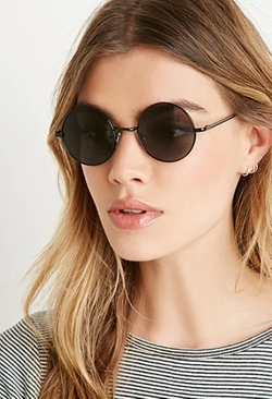 Forever 21 - Round Metal Sunglasses
