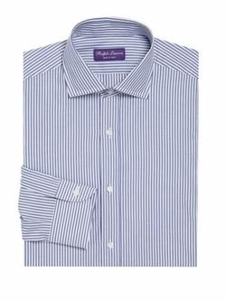 Ralph Lauren  - Purple Label Striped Regular-Fit Dress Shirt