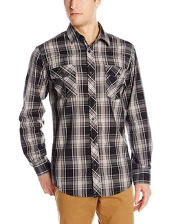 Burnside - Vessal Plaid Woven Shirt