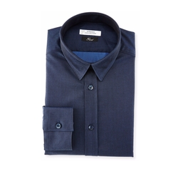 Versace - Button-Front Textured Dress Shirt