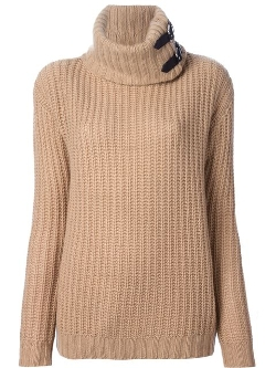 Ralph Lauren Black - Roll Neck Chunky Sweater