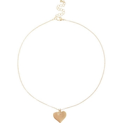River Island - Heart Pendant Necklace