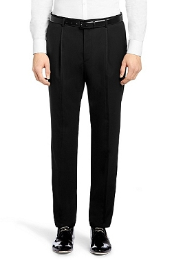 Hugo - Pleated Front Dress Pants