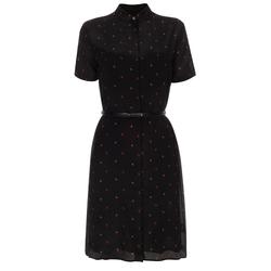 Paul Smith - Apple Print Silk Shirt-Dress