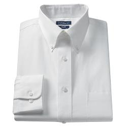 Croft & Barrow - Core No Iron Button-Down Dress Shirt - Big & Tall