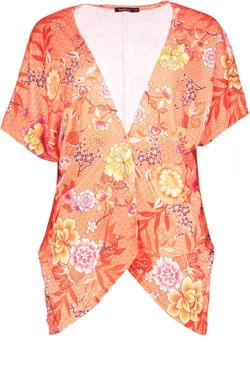 Boohoo - Emilia Oriental Floral Kimono