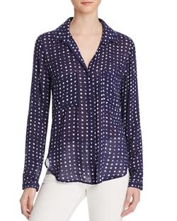 Bella Dahl  - Dot Print Hipster Shirt