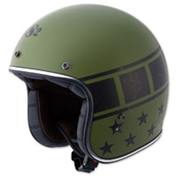 LS2 - Kurt Military Matte Green Open Face Helmet