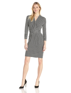 Adrianna Papell - Printed Wrap Dress