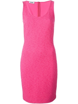 Moschino Cheap & Chic  - Bouclé Knit Dress