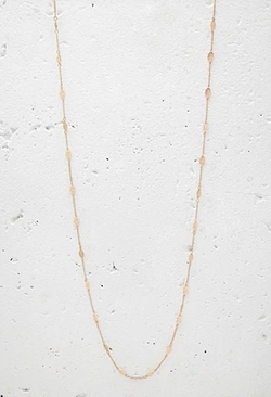 Forever 21 - Leaf Charm Longline Necklace