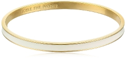 Kate Spade New York - Cream Idiom Bangle Bracelet