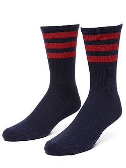 American Apparel - Stripe Calf-High Sock