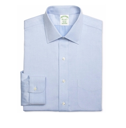 Brooks Brothers - Diamond Light Blue Solid Dress Shirt