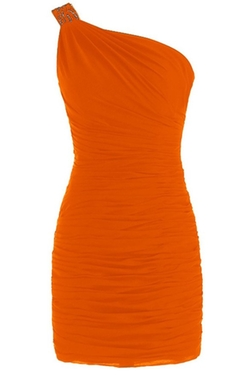 Sunvary - One Shoulder Sheath Dress