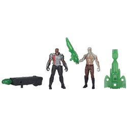 Marvel  - Guardians of The Galaxy Drax and Korath Figure (2-Pack)