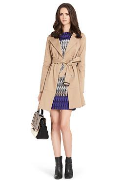 Kadence - Flare Trench Coat