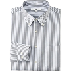 Uniqlo - Striped Long-Sleeve Shirt