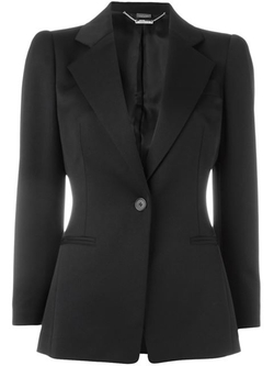 Alexander Mcqueen - One Button Blazer