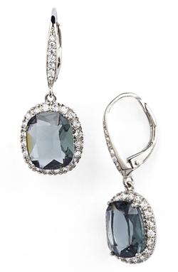 Nina - Stone Drop Earrings
