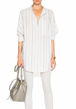 Equipment  - Button Up  Elsie Top