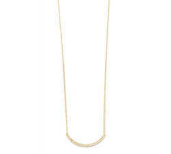 Jennifer Meyer  - Jewelry Diamond Stick Necklace