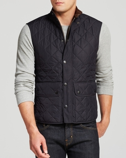 Barbour - Lowerdale Quilted Polar Fleece Gilet Vest
