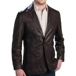 Scully  - Lambskin Leather Blazer