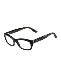 Jimmy Choo	 - Animal-Temple Optical Frame