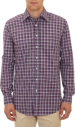 Etro - Plaid-Pattern Dress Shirt
