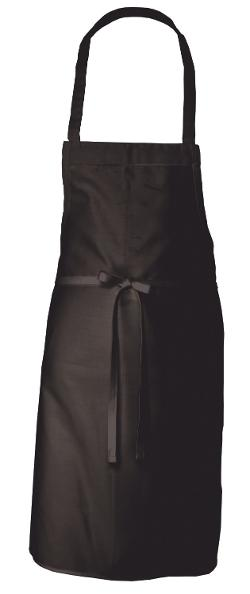 Chef Works  - Black Basic Bib Apron