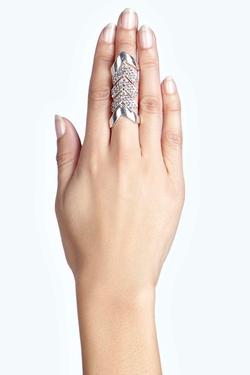 Boohoo - Heidi Chevron Ring Harness