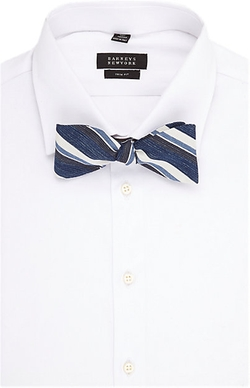 Barneys New York - Diagonal Stripe Bow Tie