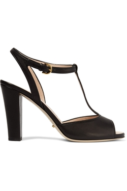 Sergio Rossi - Leather T-Bar Sandals