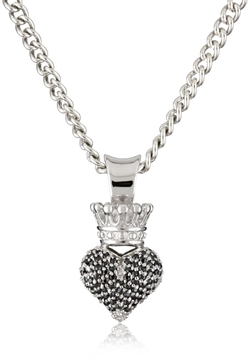 King Baby - Crowned Heart Pendant Necklace